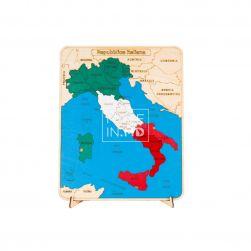 Пазл «Карта Италии»