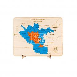 Пазл «Карта города Кишинева»