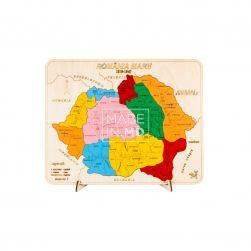 Пазл «Карта Великой Румынии»