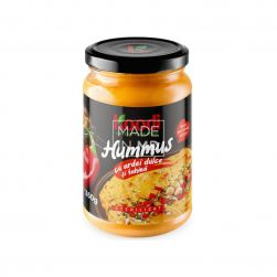 Хумус со сладким перцем и...