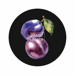Plum Sticker