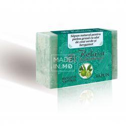 Мыло с маслом зеленого чая...