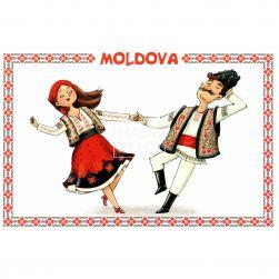 Postcard Moldova