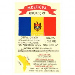 Postcard Republic of Moldova