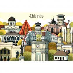 Carte poștală Chișinău