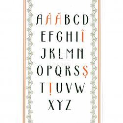 Carte poștală Alfabet