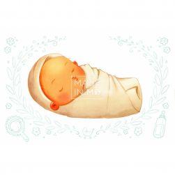 Carte poștală Bebeluș