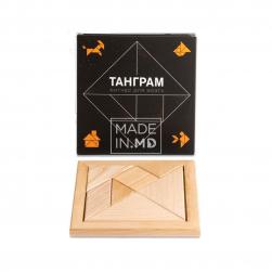 Tangram, puzzle din lemn