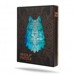 Деревянный пазл «Волк», 250...