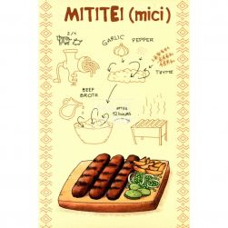 Carte poștală Mititei