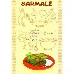 Carte poștală Sarmale