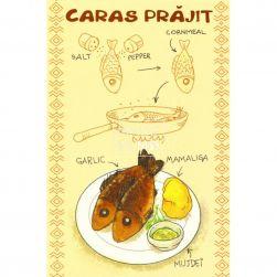 Carte poștală Caras prăjit