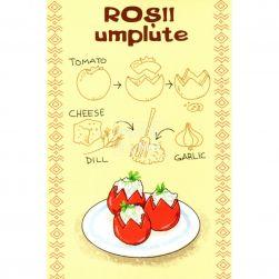 Postcard Roșii umplute