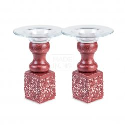 Little Candlestick with Glass