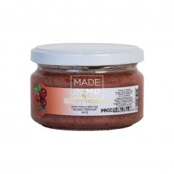 Мед крем с брусникой