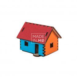 """Puzzle 3D """"Căsuța colorată"""""""