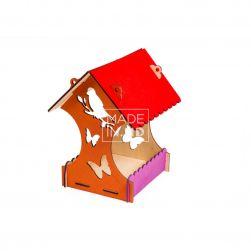 Домик для птиц (открытый)