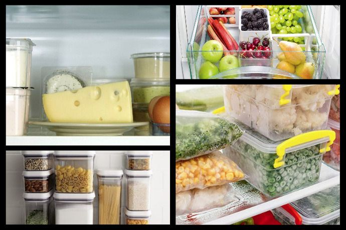 Optimal Storage Conditions for Food Products